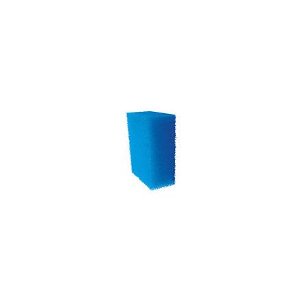 Spugna filtro acquario azzurra cm18x12x6