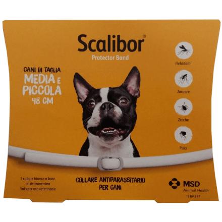 Scalibor collare (48cm) antiparassitario per cani di taglia media e piccola