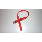 Collare in Nylon special di qualità ROSSO mm 25X600