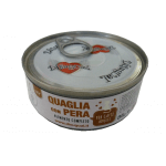 Patè monoproteico con Quaglia e pere per gatti 85g