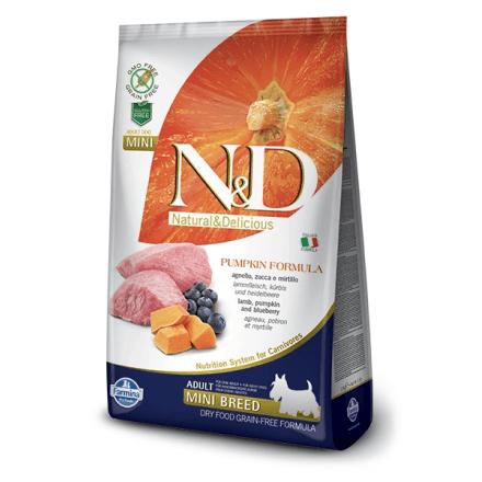 N&D Agnello Zucca e Mirtillo - Adult Mini 2,5kg