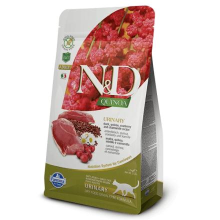 N&D Urinary gatto anatra e quinoa 1,5 kg