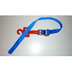 Collare in Nylon special di qualità BLU mm 15x400