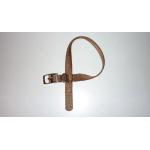 Collare in Nylon special di qualità MARRONE mm 15x350