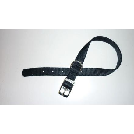 Collare in Nylon special di qualità NERO mm 20X450