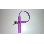 Collare in Nylon special di qualità VIOLA mm 20X450