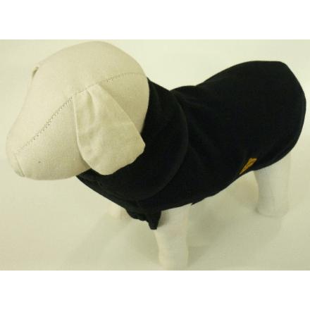 Giubbotto in pile doppio strato per cani cm. 51 NERO