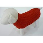 Maglioncino alta qualità per cani tg. 39 ROSSO