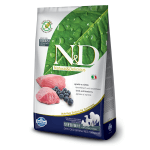 N&D PRIME Agnello e Mirtillo Grain Free- Adult Medium & Maxi 2,5kg