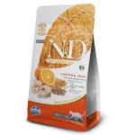 N&D Merluzzo e arancia - secco gatto adult 300g