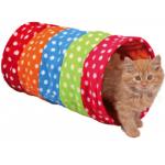 Tunnel frusciante in pile per gatti cm 50 d. 25 cm