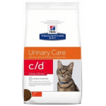 C/D Urinary STRESS pollo gatto secco 400g