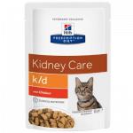 K/D renal gatto umido pollo 85g