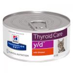 Y/D tiroide umido gatto 156 g