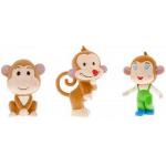Scimmietta gioco per cani in lattice con squeek cm 13