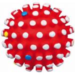 Palla riccio in vinile con squeek interno d. 6cm