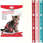 Parure pettorina e guinzaglio per gattini TURCHESE