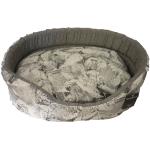 Cesta imbottita Foglia con cuscino sfoderabile cm 65x50 h23 tg.4