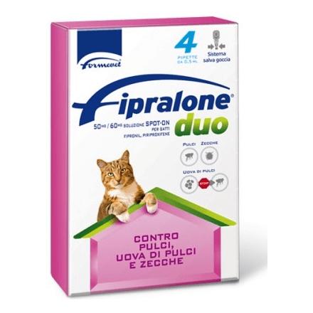 Fipralone DuoSpot Antiparassitario spot-on per gatti 4pz.