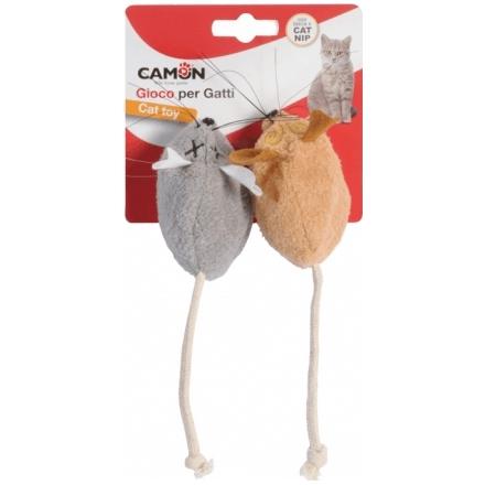 Topini gioco fruscianti per gatti con catnip cm 7
