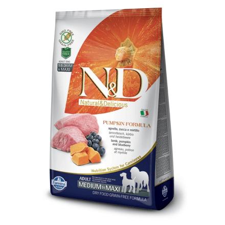N&D Agnello Zucca e Mirtillo - Adult Medium & Maxi 12kg