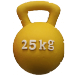 Kettlebell - Palla in lattice supersonora per cani d. 12 cm