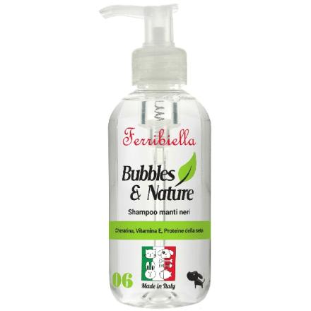 Shampoo per cani a manto nero 250 ml - Made in Italy