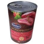 Monoproteico Manzo ed ortaggi umido cane 390g grain free