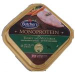Monoproteico Tacchino ed ortaggi umido cane 150g grain free