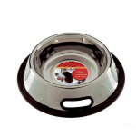 Ciotola antirovesciamento acciaio antiscivolo 0,5 l d.14 cm