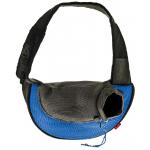 Backpack ba, borsa monospalla per cani e gatti cm 48x14x28
