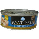 Matisse, mousse con merluzzo completa umido gatto 85g