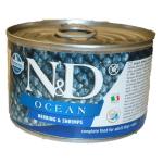 N&D Ocean, Aringhe e gamberi umido cane mini 140g