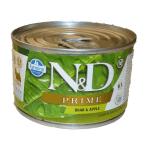 N&D Prime, Cinghiale e Mela umido cane mini 140g
