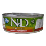 N&D Prime, Pollo e melogranoumido gatto 80g