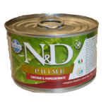 N&D Prime, Pollo e Melograno umido cane mini 140g
