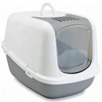 Toilette per gatti Nestor Jumbo Grigio cm 66,5x48,5x46,5