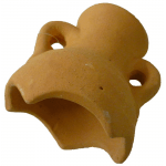 Collo anfora terracotta medio d.10 cm x 10 cm
