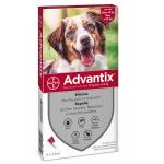 Advantix antiparassitario Spot On per cani da 10kg a 25kg 4 fialette