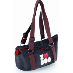 Borsa calda e morbida LOVE MY DOG M cm 40x22x18