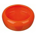 Ciotola in ceramica conigli e roditori 200 ml d.10 cm ARANCIO