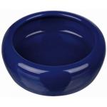 Ciotola in ceramica conigli e roditori 200 ml d.10 cm BLU