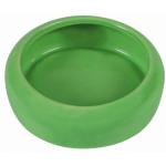 Ciotola in ceramica conigli e roditori 200 ml d.10 cm VERDE