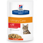 C/D Urinary STRESS pollo gatto umido 85g