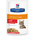 C/D Urinary STRESS salmone gatto umido 85g