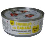 Patè monoproteico con Coniglio e Banana per gatti 85g