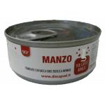 Patè monoproteico con Manzo per gatti 85g