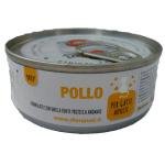 Patè monoproteico con Pollo per gatti 85g