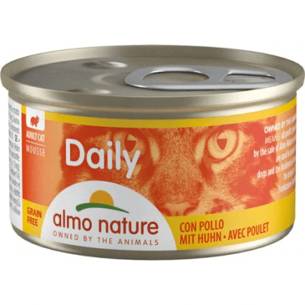 Daily Menu Mousse Pollo 85g