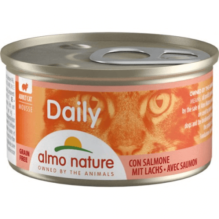 Daily Menu Mousse Salmone 85g